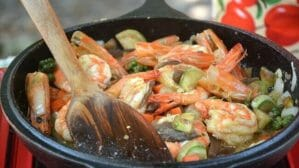easy thai prawn recipe