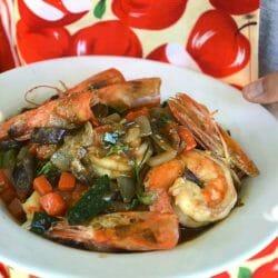 easy thai shrimp recipe sprouting fam