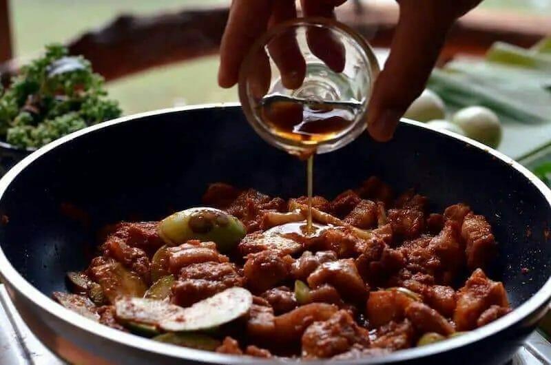 panang fish sauce addition