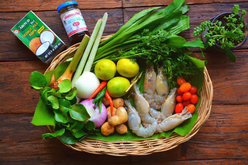 Tom Yum Soup Recipe Ingredients