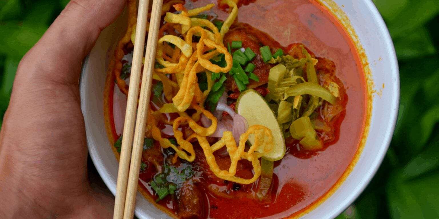 easy khao soi recipe by sprouting fam